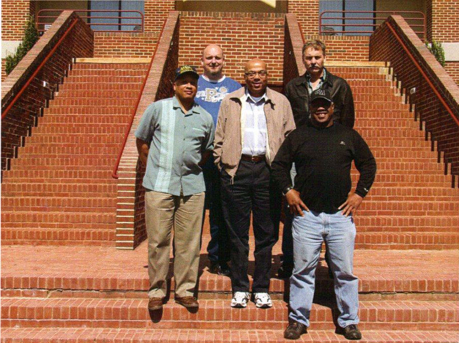 AKIMA LOGMET Contract Negotiation Team     Joe Gould, Mark Mishler, Eugene Jemison, Derek Blackburn and Vince Coston